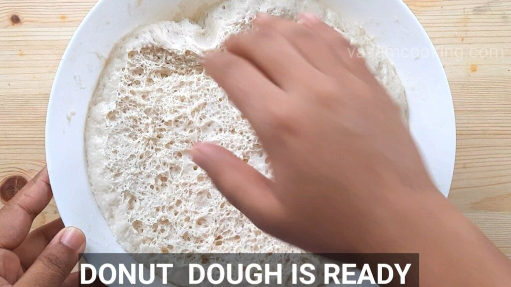 Eggless-doughnuts-recipe-eggless-donut-recipe-dough-is-ready