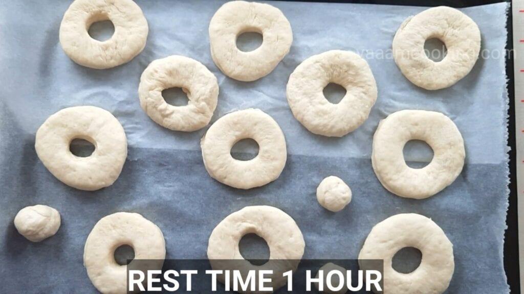 Eggless-doughnuts-recipe-eggless-donut-recipe-rest-1-hour