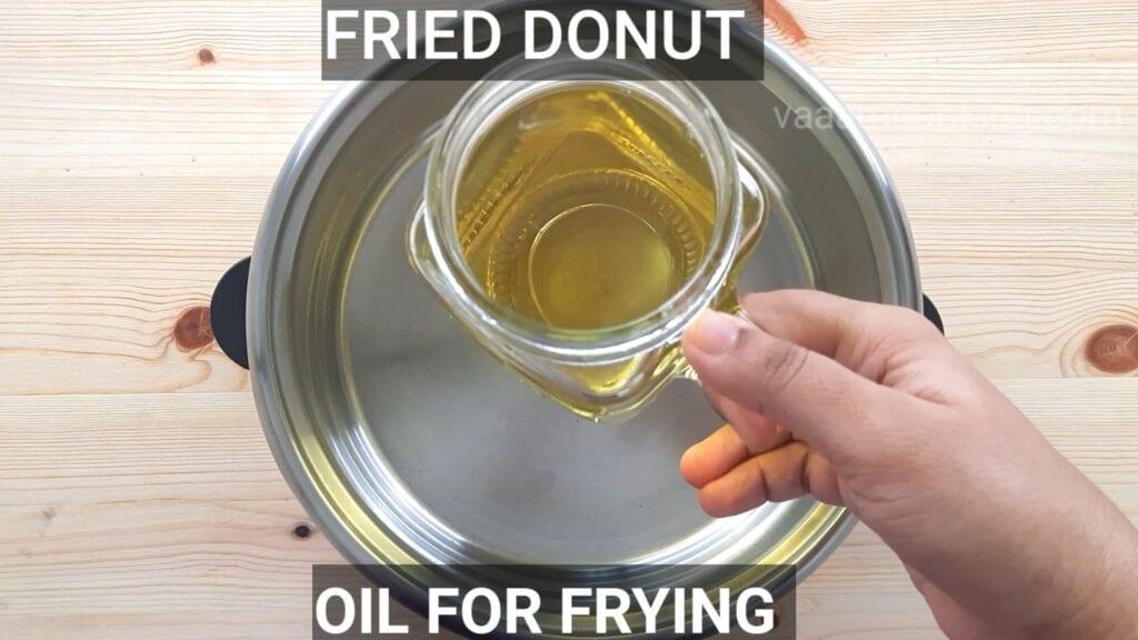 Eggless-doughnuts-recipe-eggless-donut-recipe-fried-donut-oil