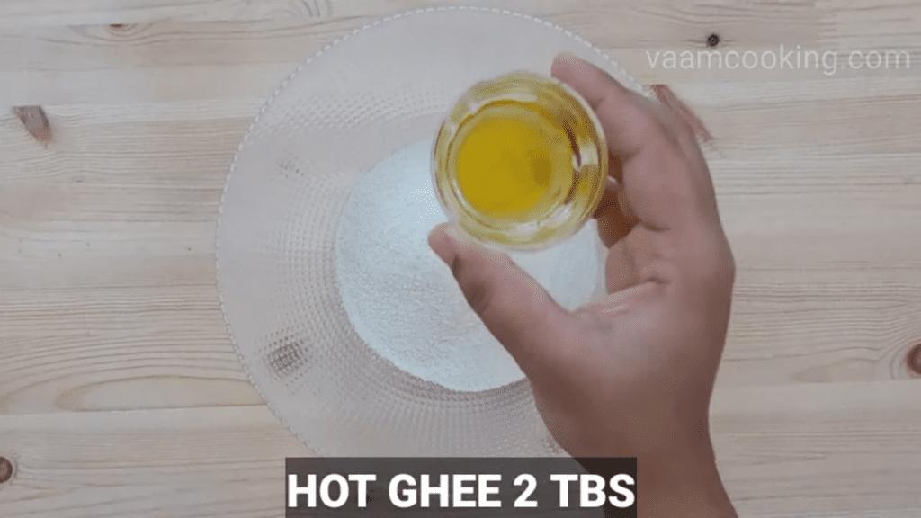 Fried-rava-modak-recipe-Hot-ghee