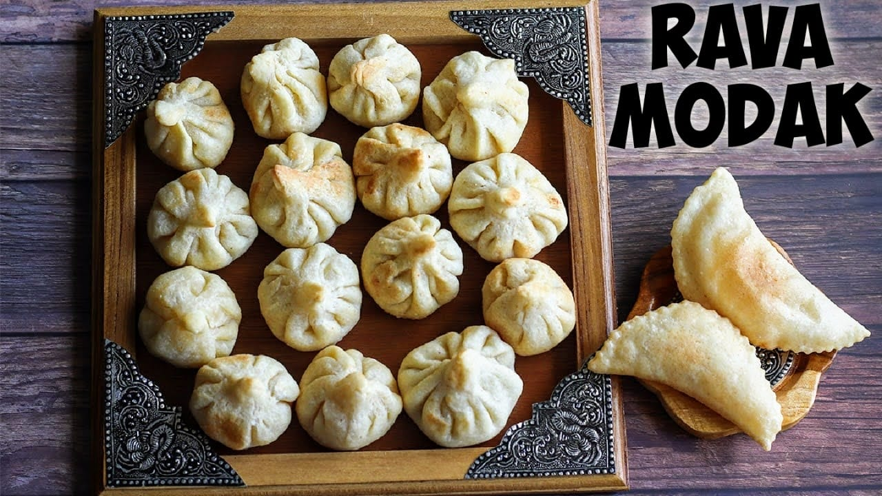 Fried-rava-modak-recipe
