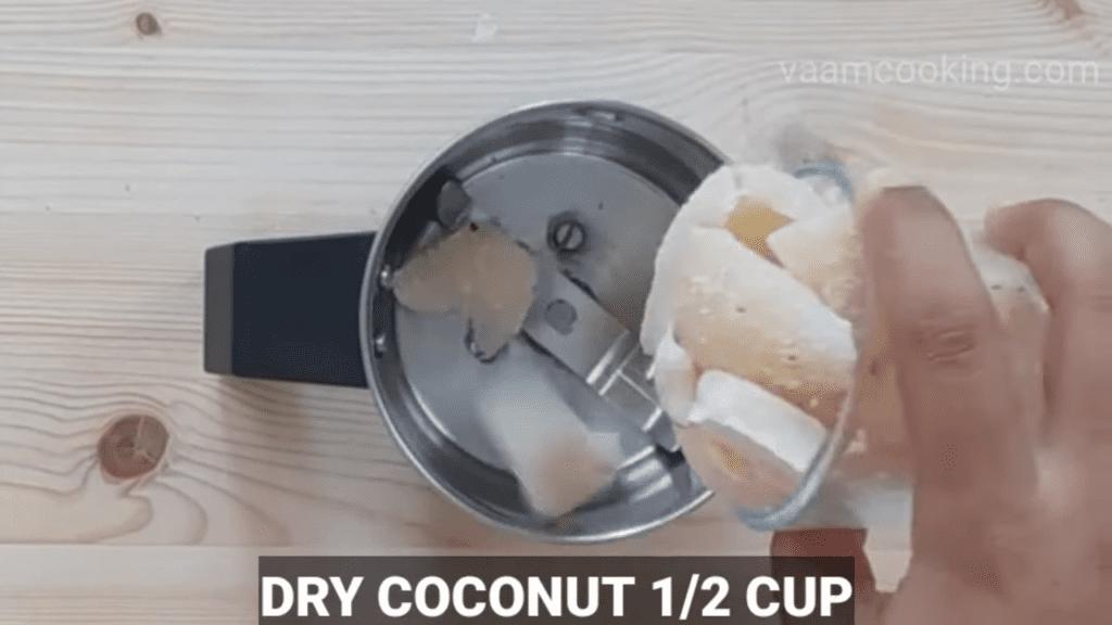 Fried-rava-modak-recipe-dry-coconut