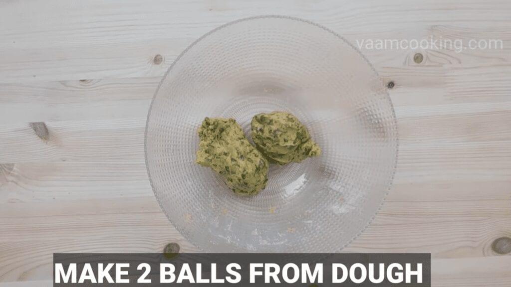 Palak-vadi-recipe-healthy-spinach-rolls-make-balls