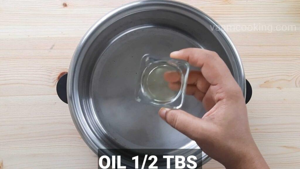 Paneer tikka pizza  add oil