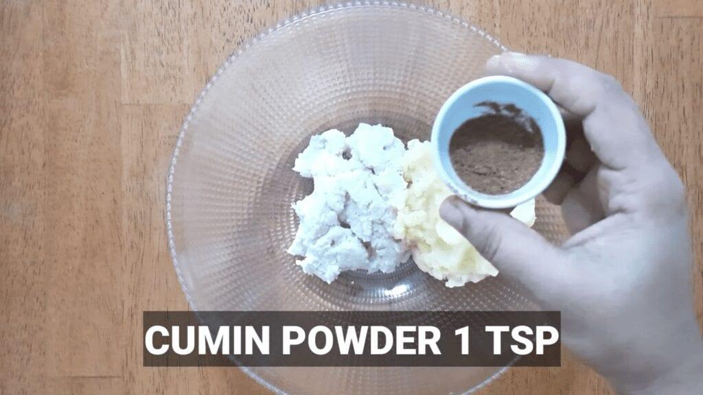 Vrat-Dahivada-recipe-cumin-powder