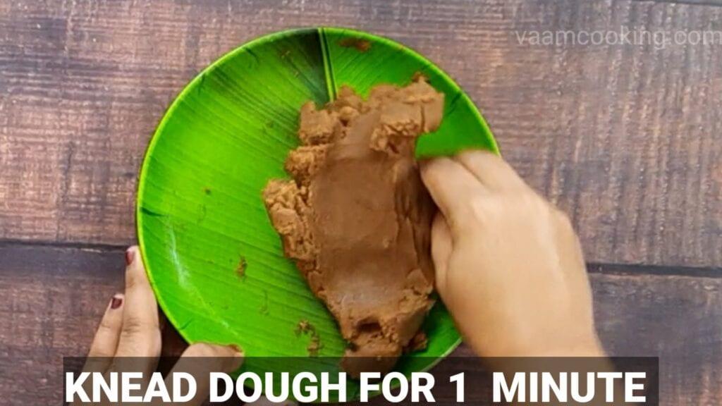 chocolate-modak-recipe knead modak dough