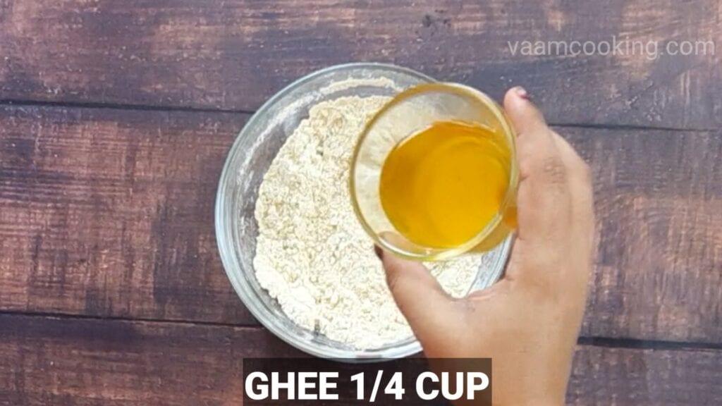 instant-roasted-gram-modak ghee