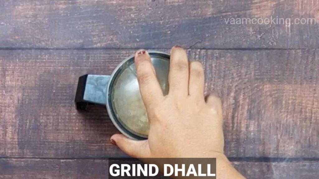 instant-roasted-gram-modak grind dhall