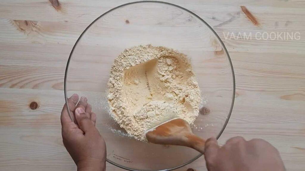 instant-khaman- dhokla-mix-well