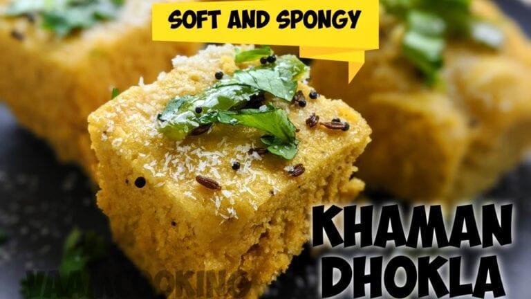 khaman dhokla easy recipe