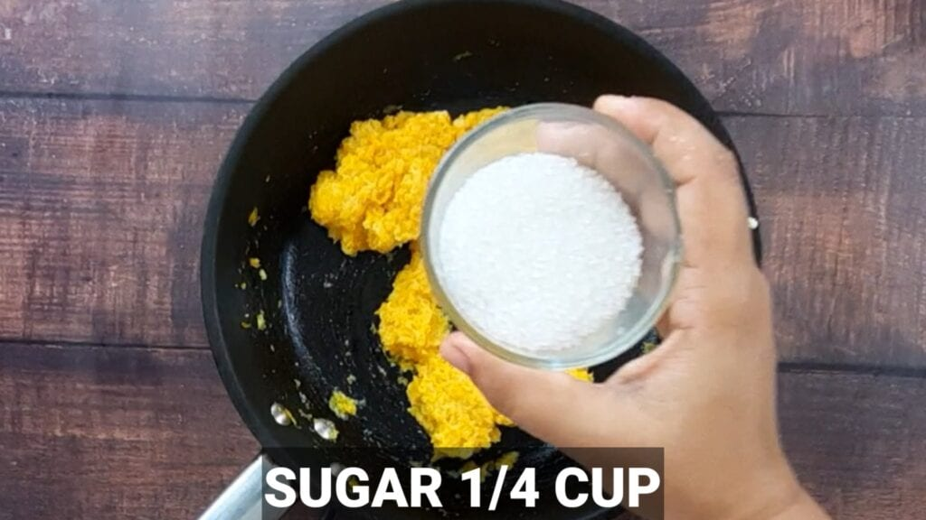 pumpkin-modak-recipe sugar