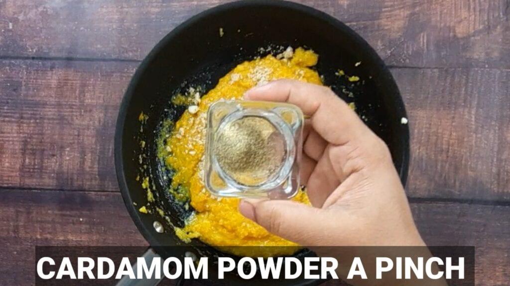 pumpkin-modak-recipe cardamom powder