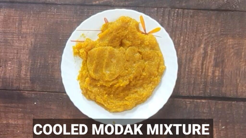 pumpkin-modak-recipe modak mixture