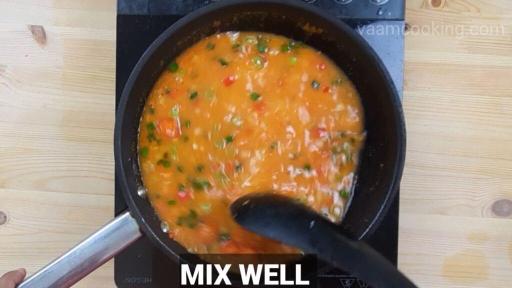schezwan-fried-rice-mix-well