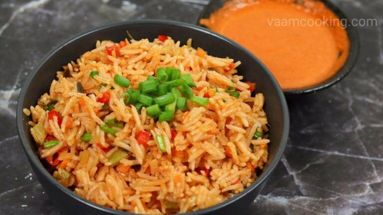 Schezwan fried rice recipe| How to make Schezwan fried rice