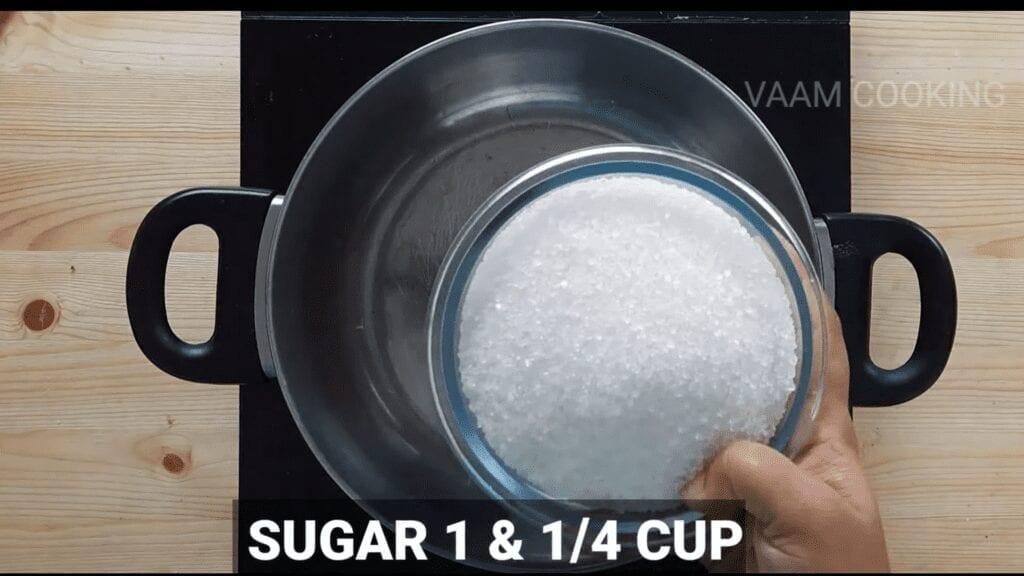 Bombay-halwa-recipe-badam-halwa-recipe-water-sugar