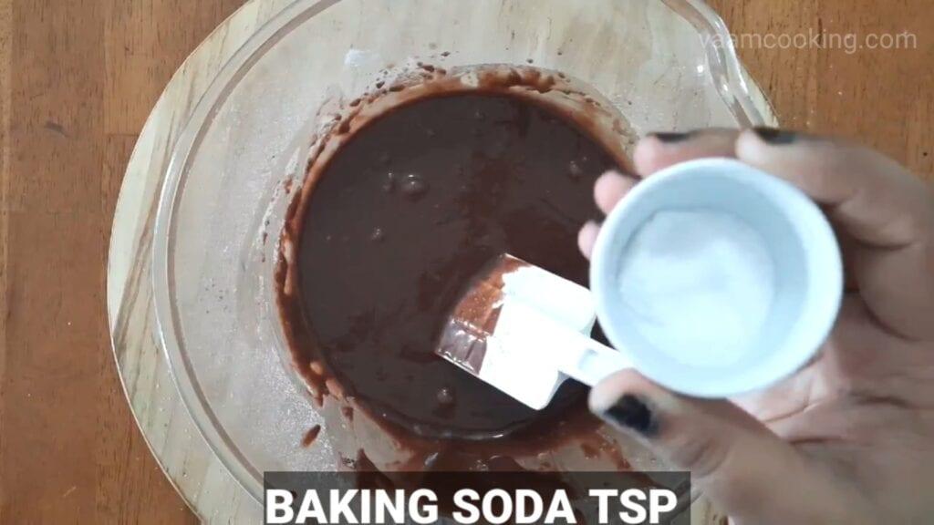 Double-chocolate-cake-recipe baking soda