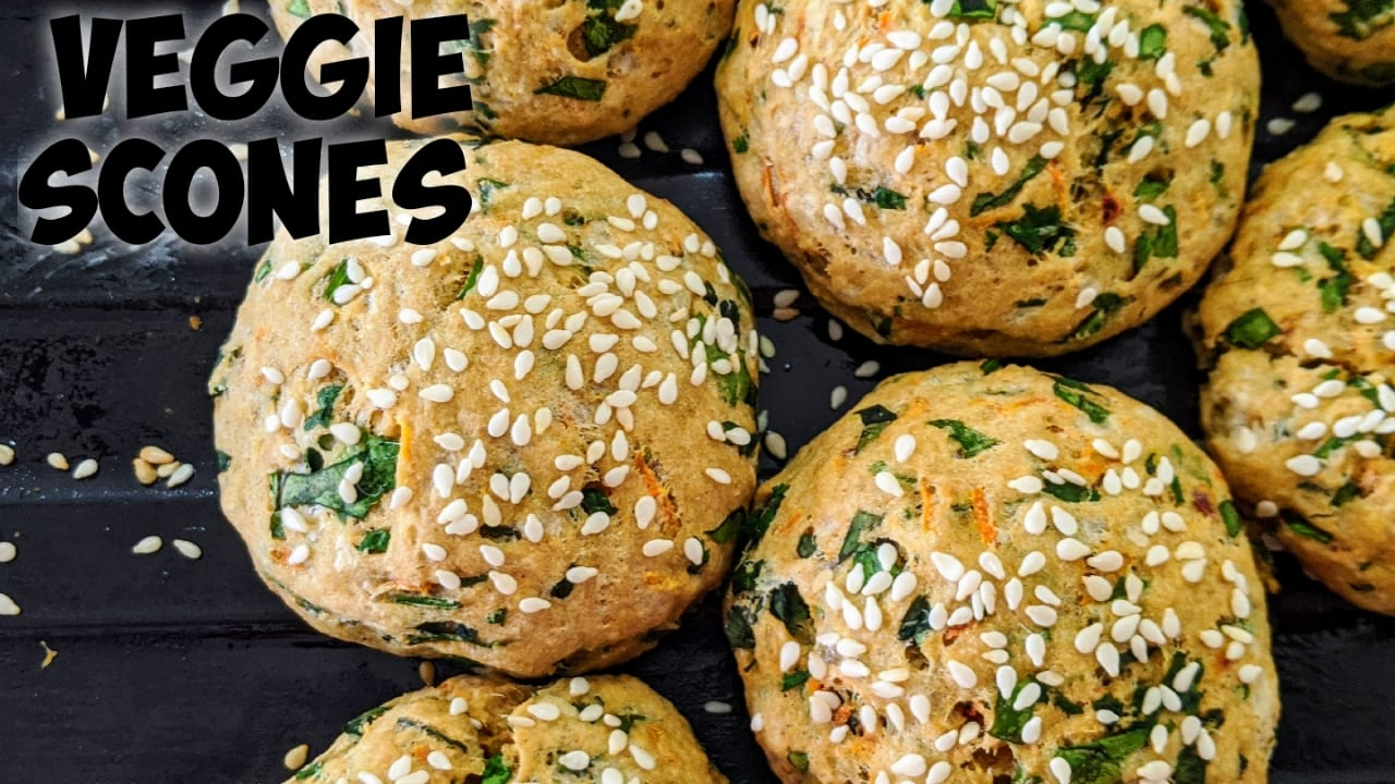 Eggless-scones-recipe-healthy-recipes-veggie-scones-recipe