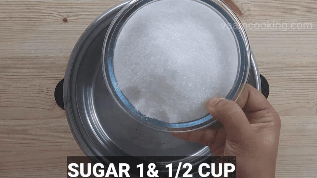 Halwai-style-gulab-jamun-recipe-khoya-gulab-jamun-recipe-Sugar