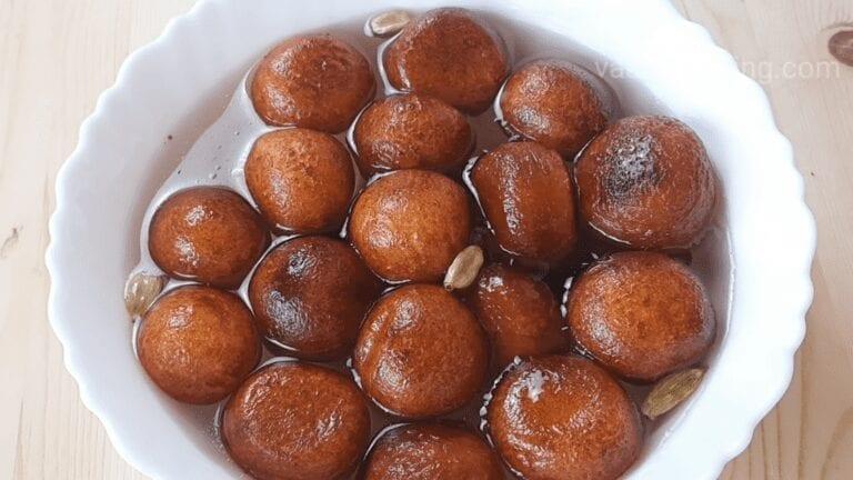 Gulab Jamun Recipe | Halwai style Gulab Jamun | Easy Homemade Gulab Jamun