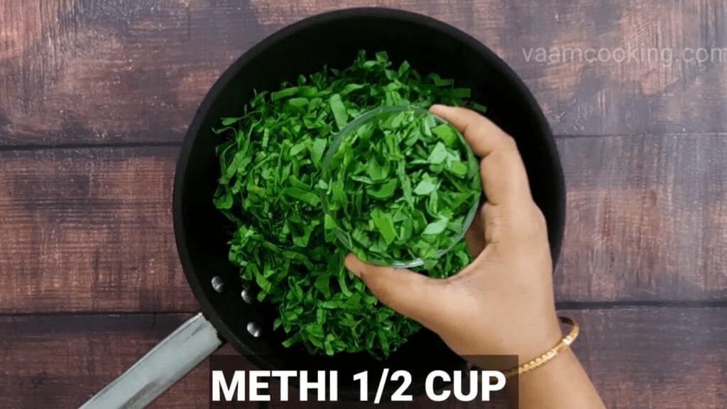 Mudda-bhaji-recipe-add-methi