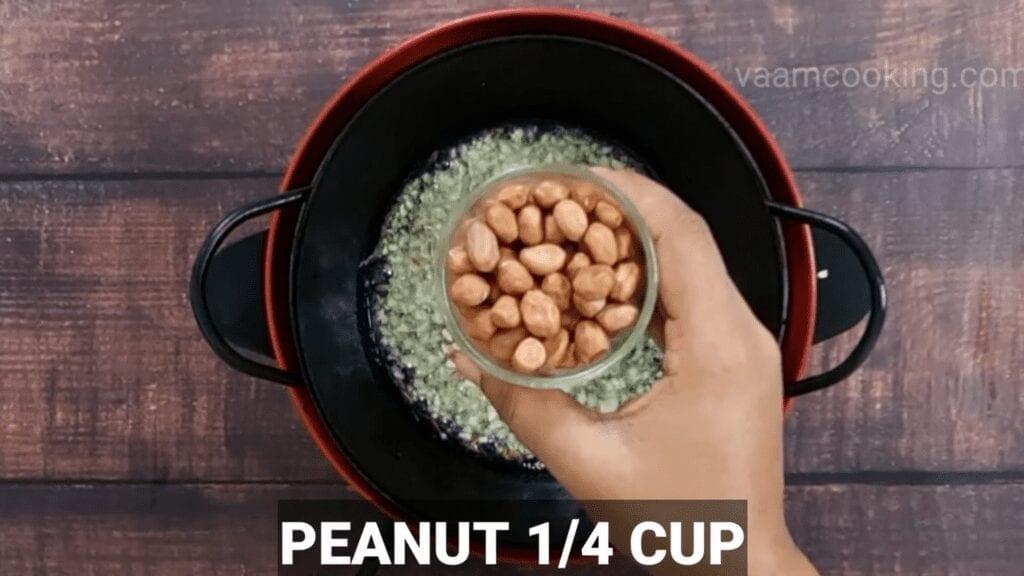 Mudda-bhaji-recipe-tadka-peanut