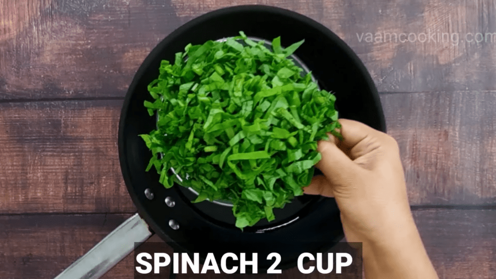 Mudda-bhaji-recipe-add-spinach