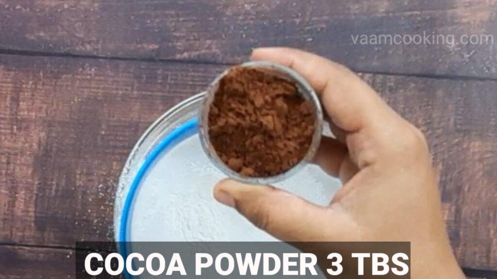choco-lava-cake cocoa powder