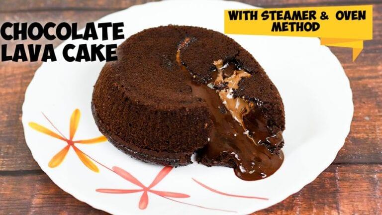 Chocolate lava cake recipe |Eggless Choco lava cake
