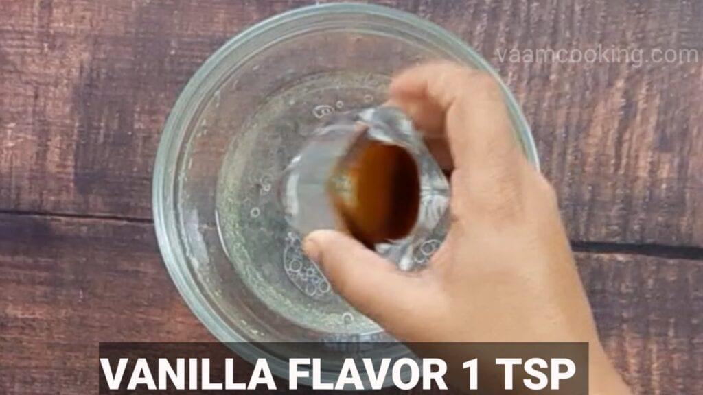 choco-lava-cake vanilla flavour