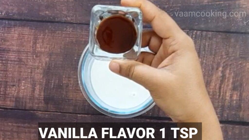 fruit-custard-recipe vanilla essence