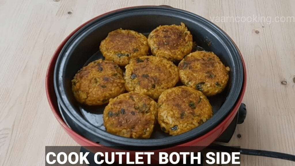 healthy-rice-cutlet-from-leftover-rice-cook-both-side