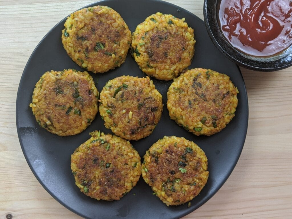 healthy-rice-cutlet-from-leftover-rice-image