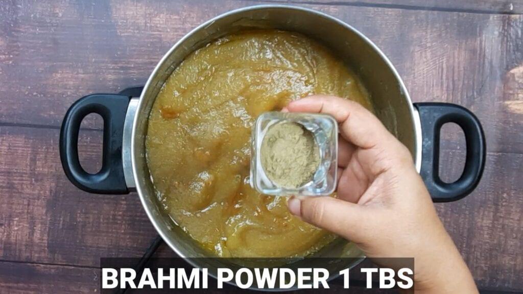 homemade-chyawanprash-recipe-brahmi-powder