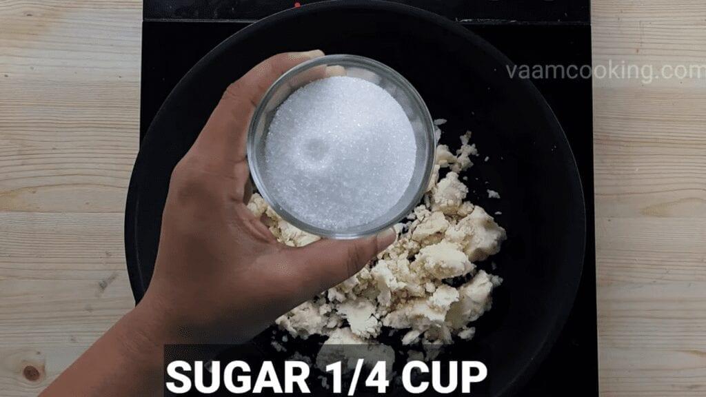 khoya-barfi-recipe-mawa-barfi-recipe-sugar