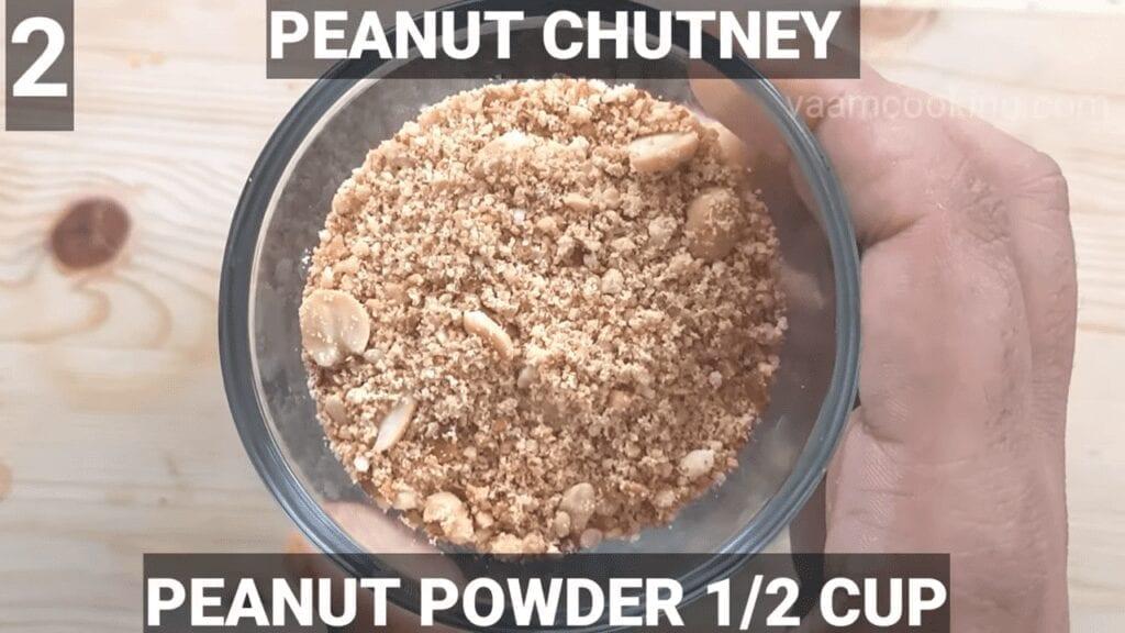 sabudana-vada-recipe-peanut-chutney-peanut-powder