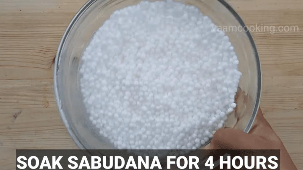 sabudana-vada-recipe-Fasting-Sago-vada-soak-sabudana-4-hours