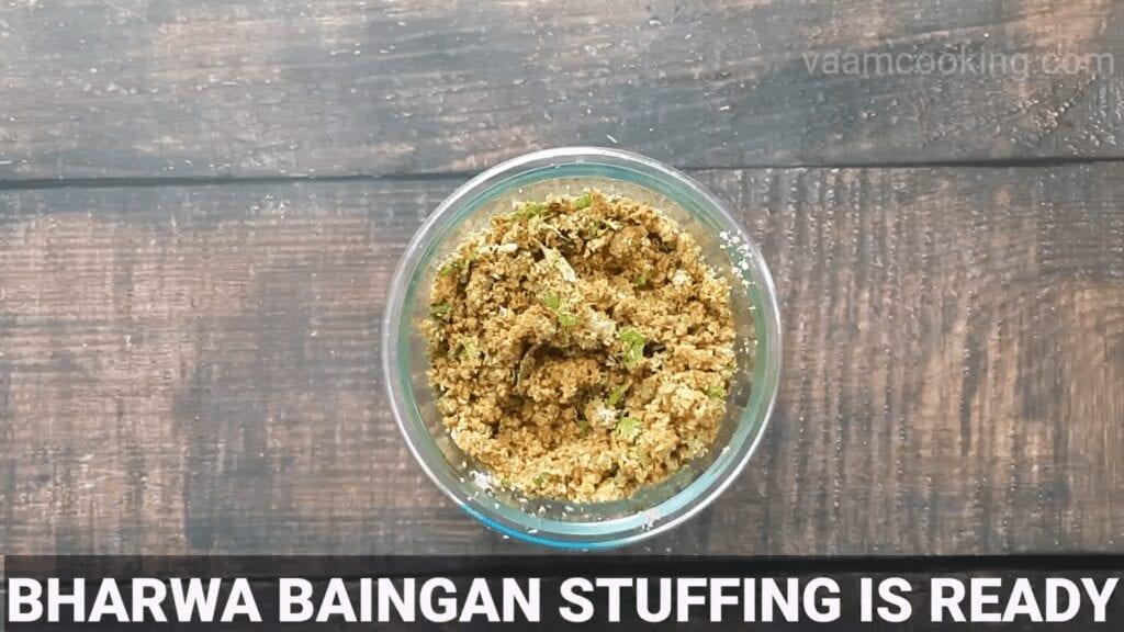 Bharwa-baingan-recipe-stuffing-ready