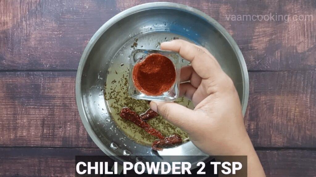 Bharwa-baingan-recipe-curry-chil-powder