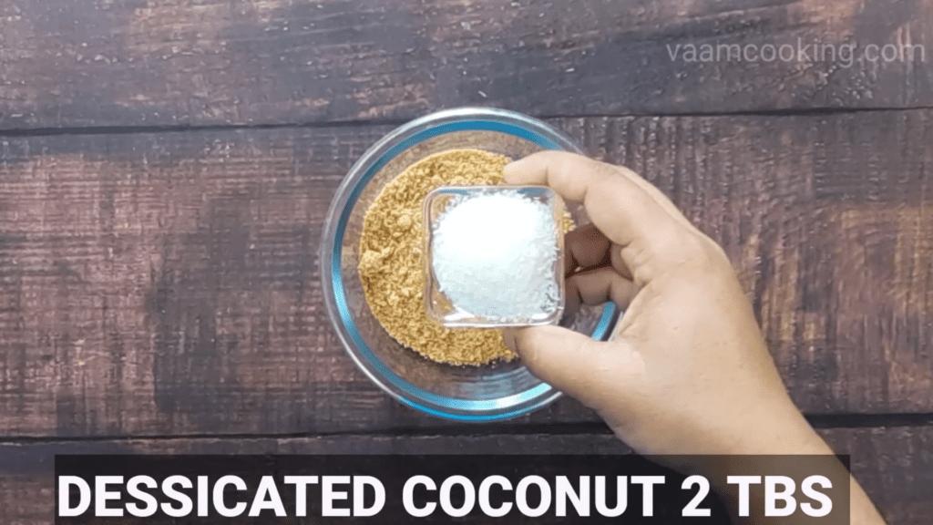 Bharwa-baingan-recipe-peanut-coconut-powder