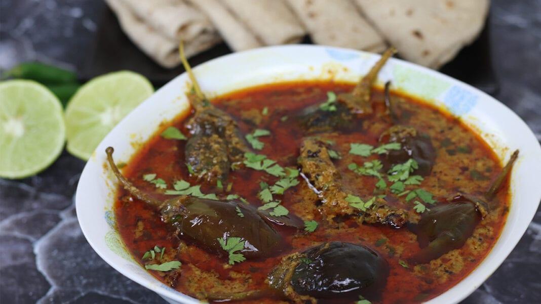 Bharwa-baingan-recipe-eggplant-curry