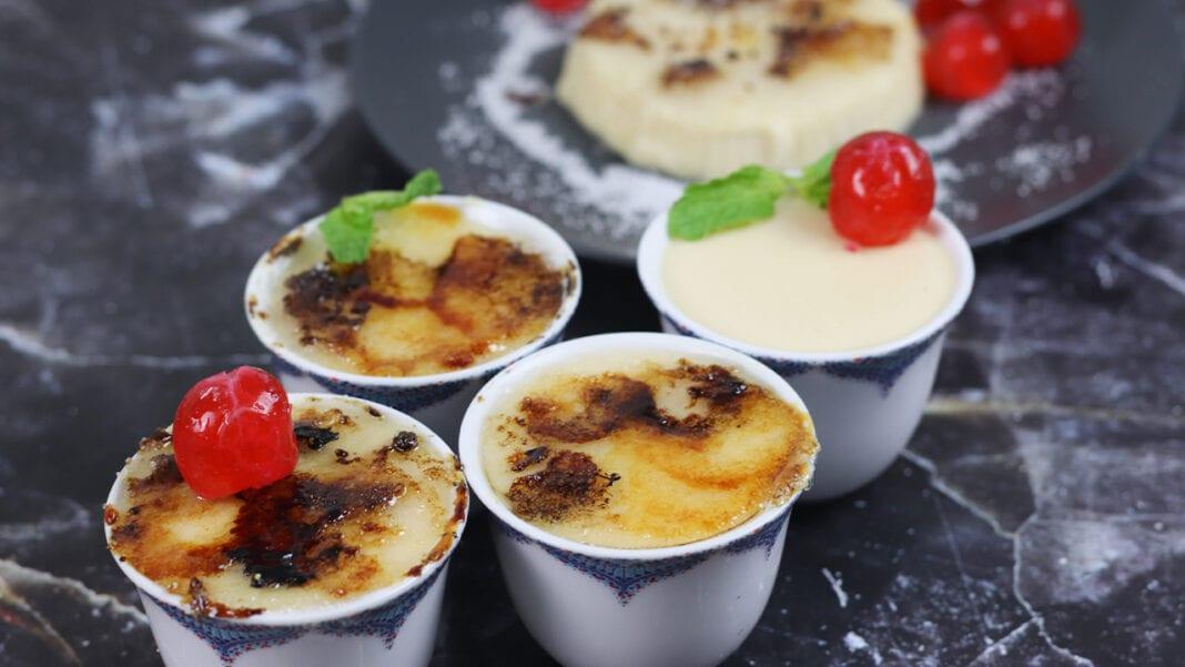Eggless-Crème-Brulee-recipe