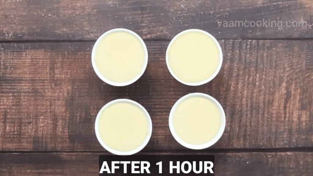 Eggless-Crème-Brulee-recipe-after-2-hr