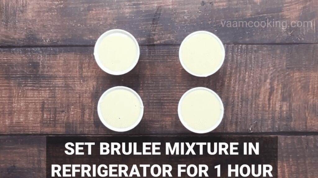 Eggless-Crème-Brulee-recipe-refrigerate