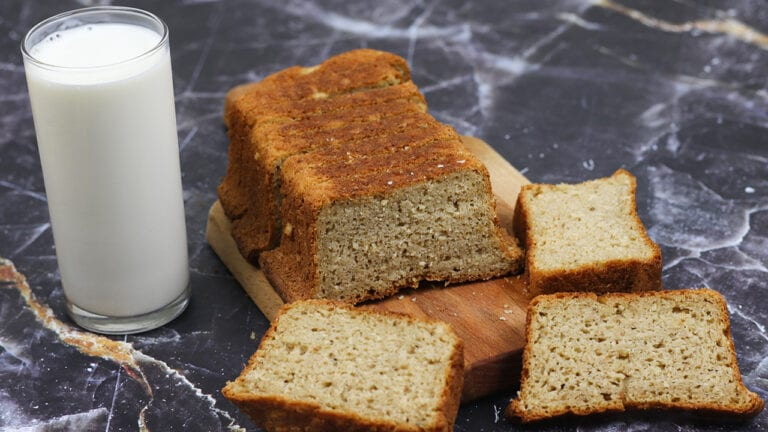 Eggless-whole-wheat-bread-recipe