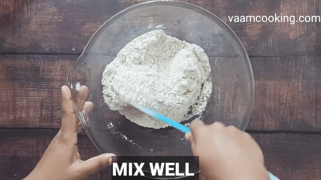 Eggless-whole-wheat-bread-recipe-mix-well-all