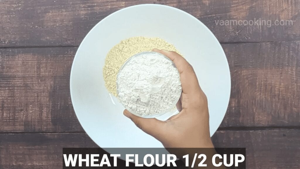Kothimbir-vadi-recipe-wheat-flour