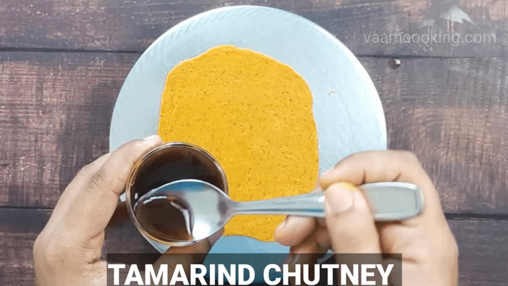 Kothimbir-vadi-recipe-coriander-rolls-tamarind-chutney