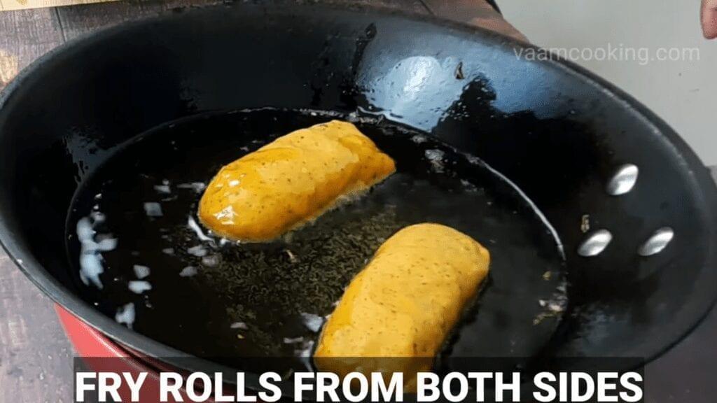 Kothimbir-vadi-recipe-coriander-rolls-fry-rolls