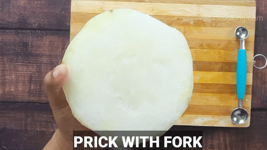 angoori-petha-recipe-prick-with-fork